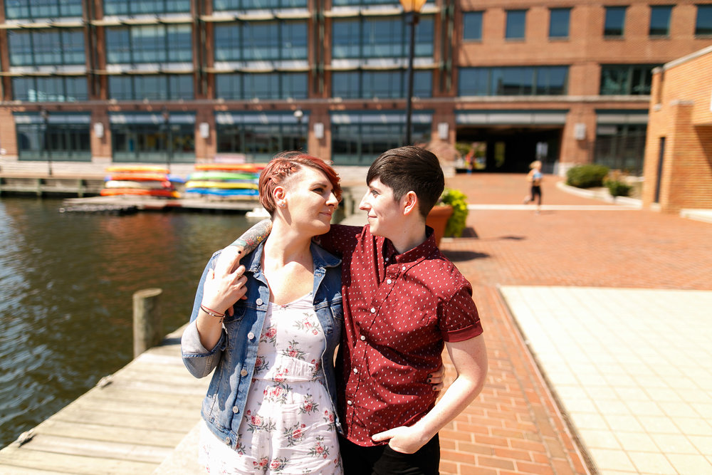 LGBTQ Baltimore Engagement Session with lesbian photographer Swiger Photography13.jpg