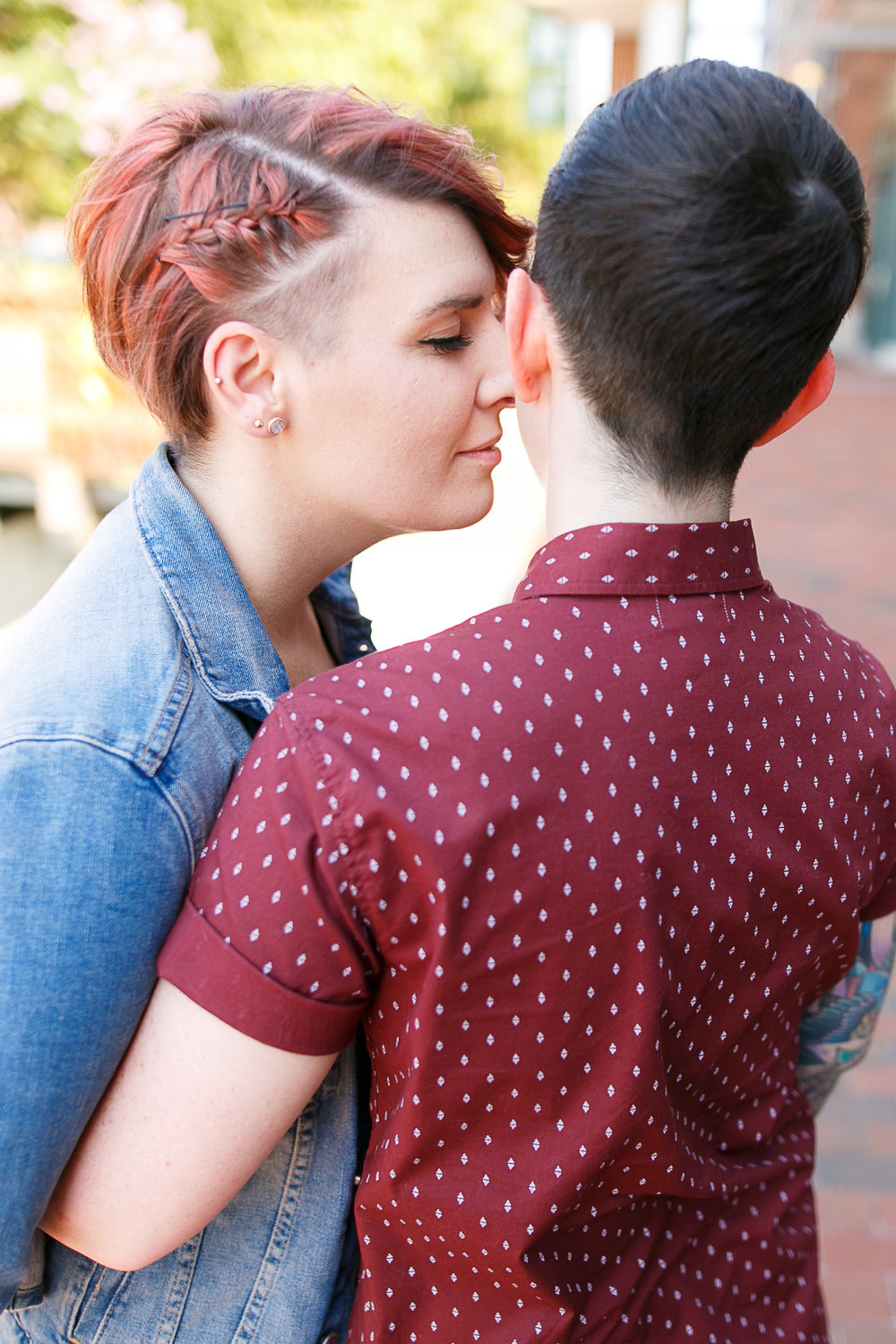 LGBTQ Baltimore Engagement Session with lesbian photographer Swiger Photography15.jpg