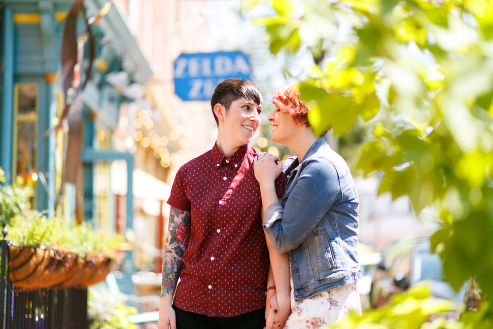 LGBTQ Baltimore Engagement Session with lesbian photographer Swiger Photography25.jpg