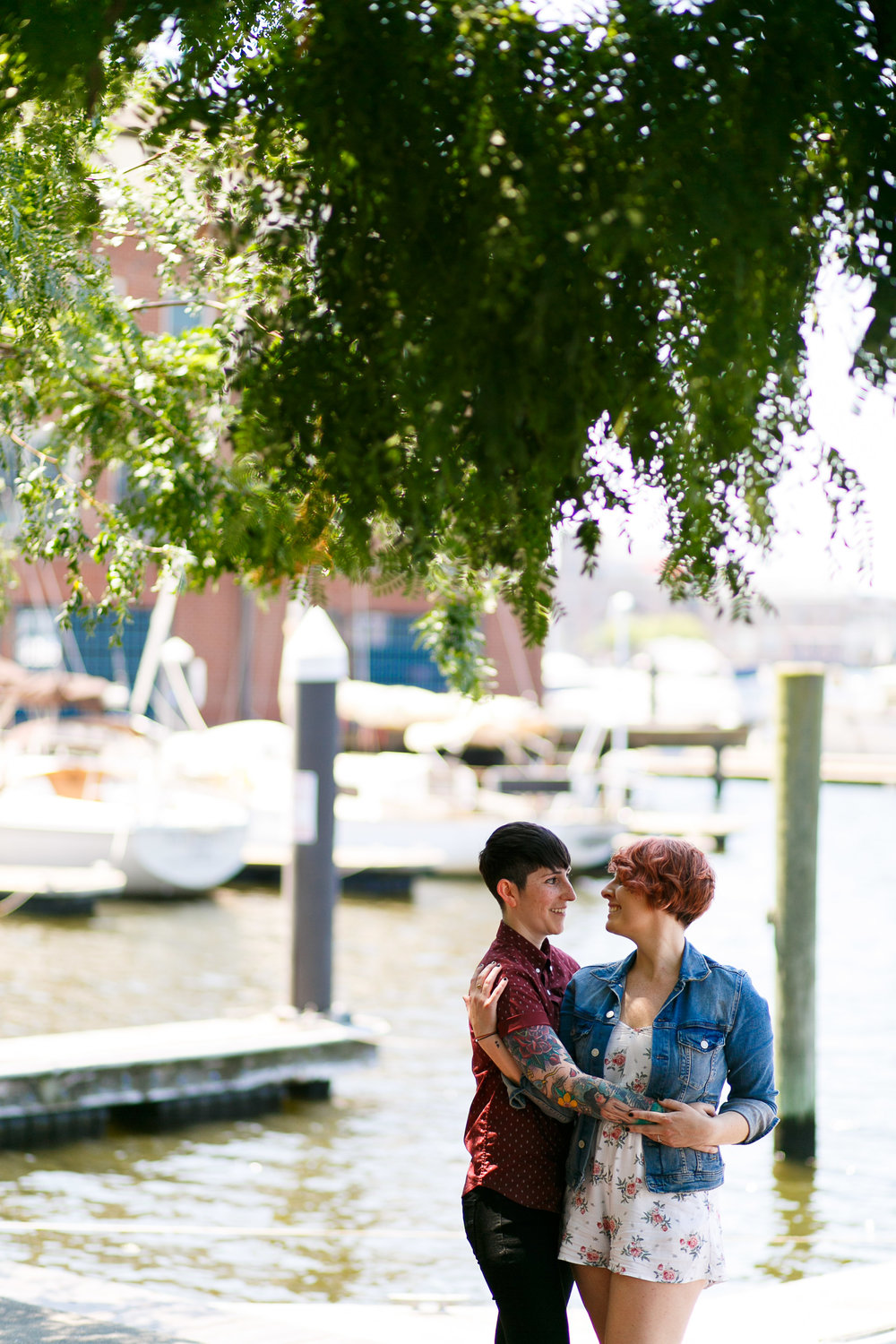 LGBTQ Baltimore Engagement Session with lesbian photographer Swiger Photography27.jpg