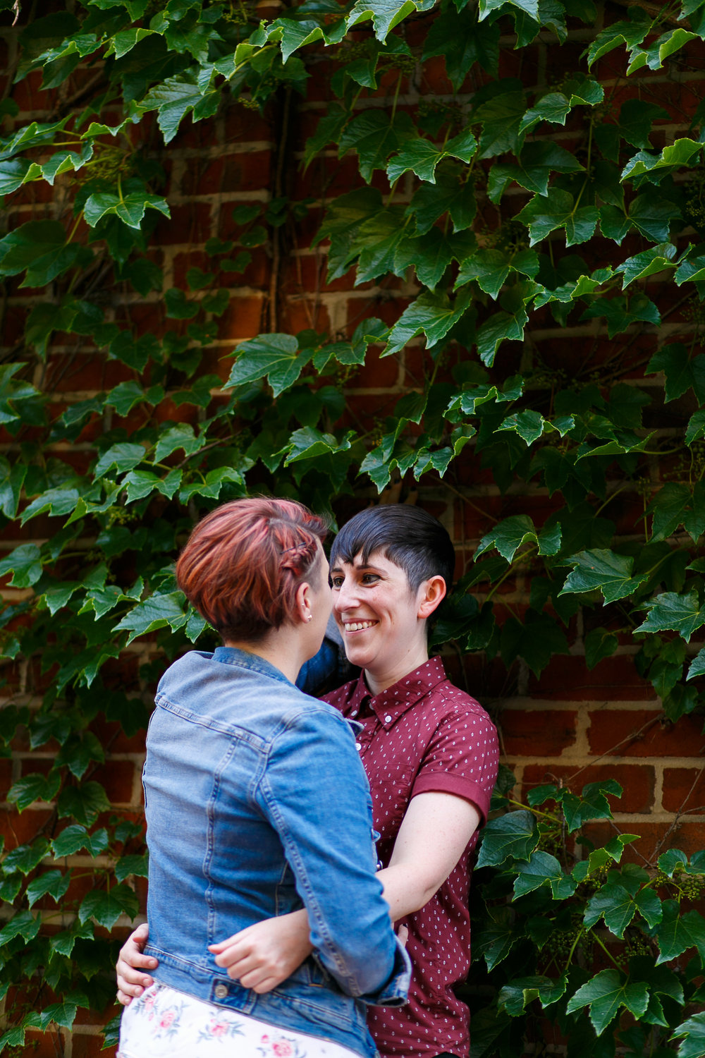 LGBTQ Baltimore Engagement Session with lesbian photographer Swiger Photography33.jpg