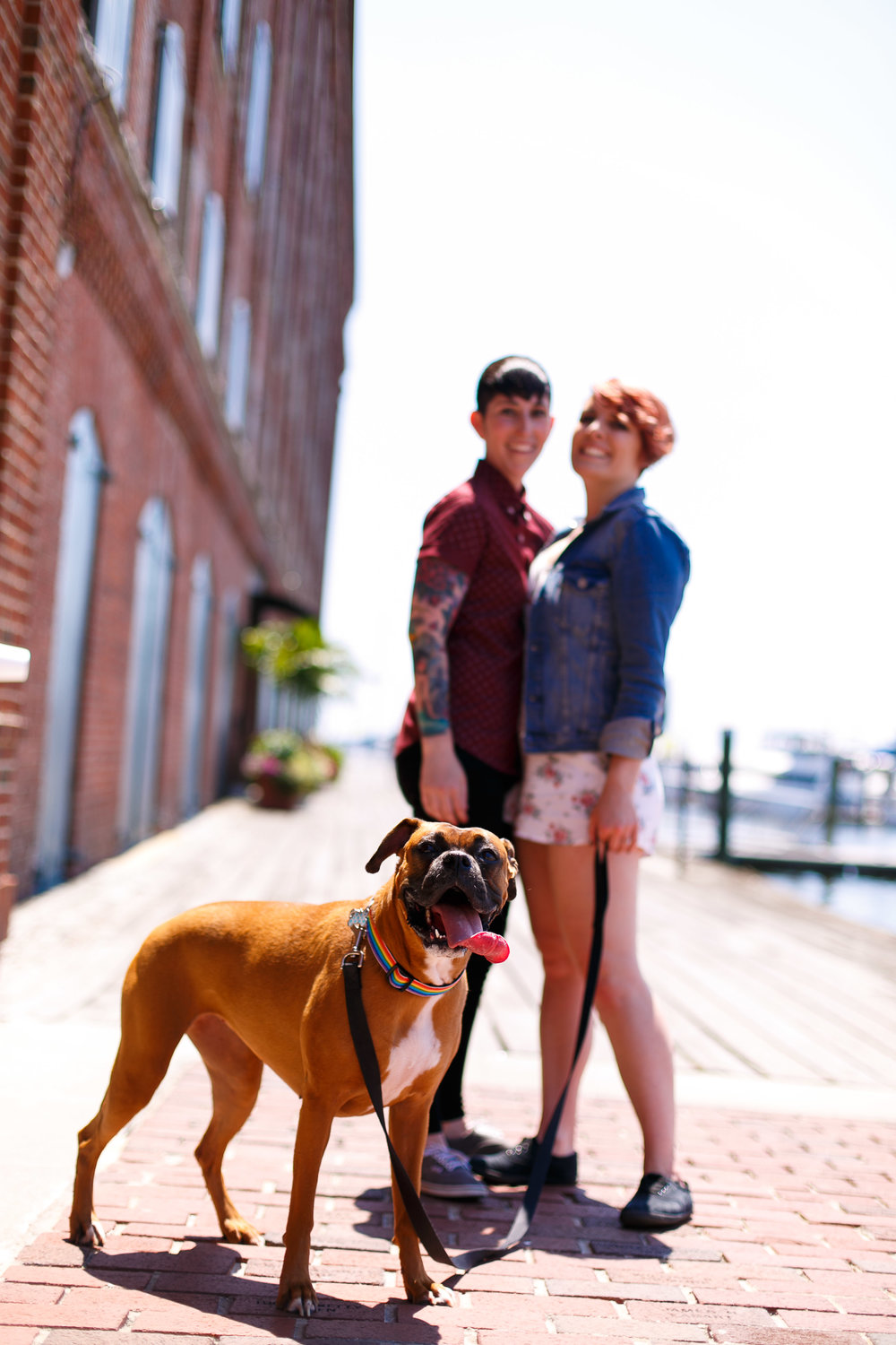 LGBTQ Baltimore Engagement Session with lesbian photographer Swiger Photography45.jpg