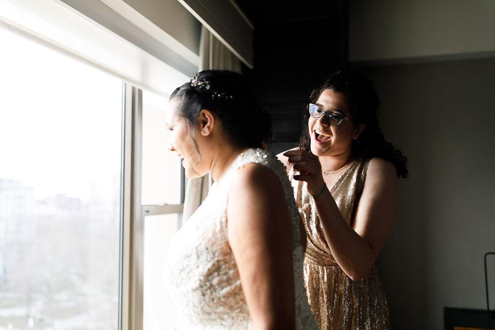 Old City Philly Renaissance Hotel Lesbian Winter Wedding20.jpg