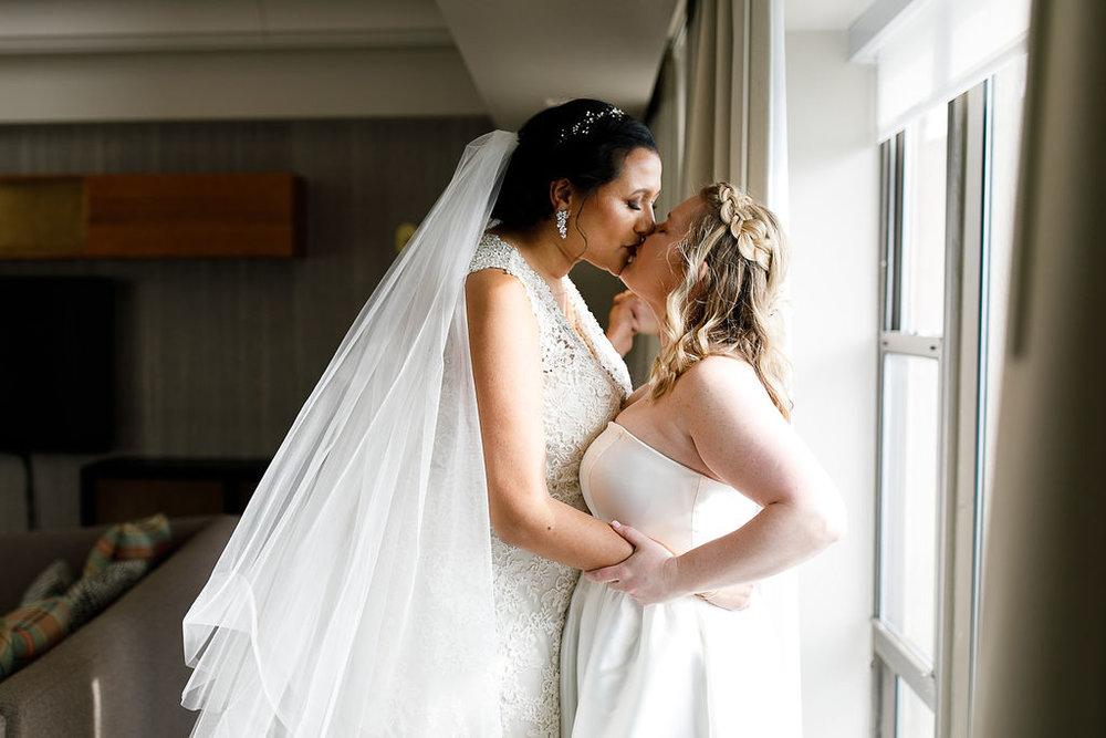 Old City Philly Renaissance Hotel Lesbian Winter Wedding30.jpg
