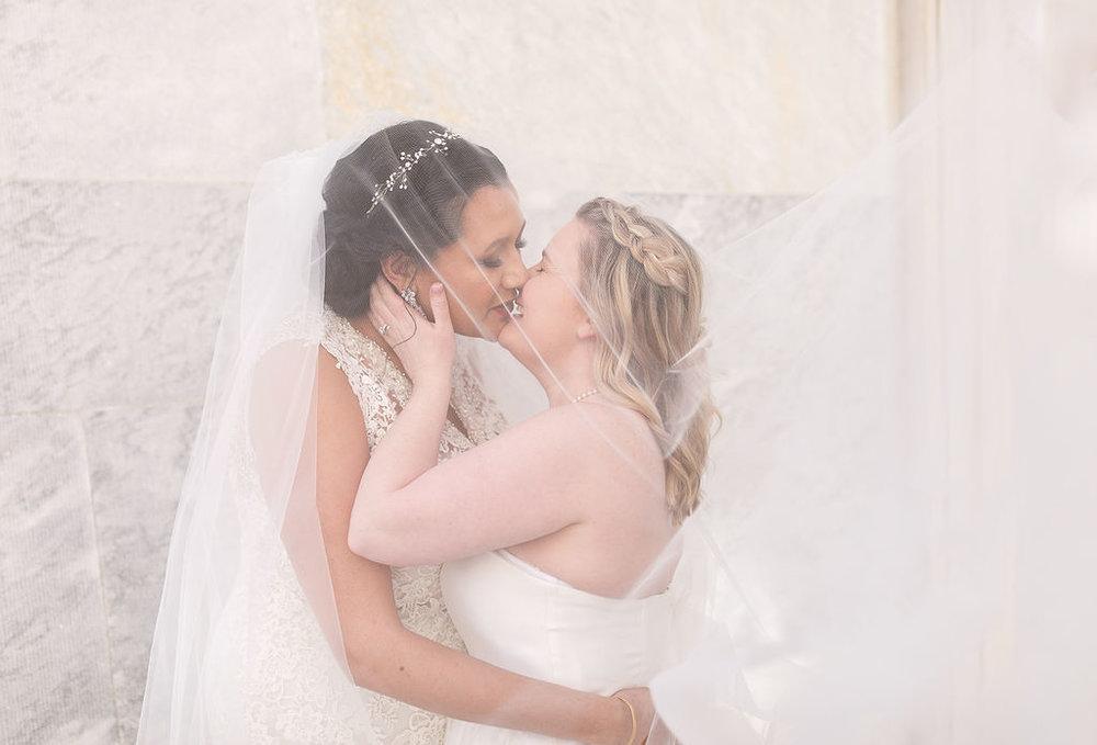 Old City Philly Renaissance Hotel Lesbian Winter Wedding47.jpg