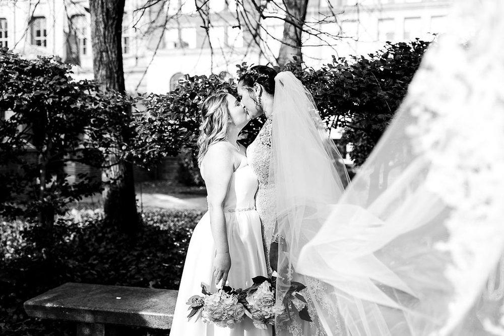 Old City Philly Renaissance Hotel Lesbian Winter Wedding55.jpg
