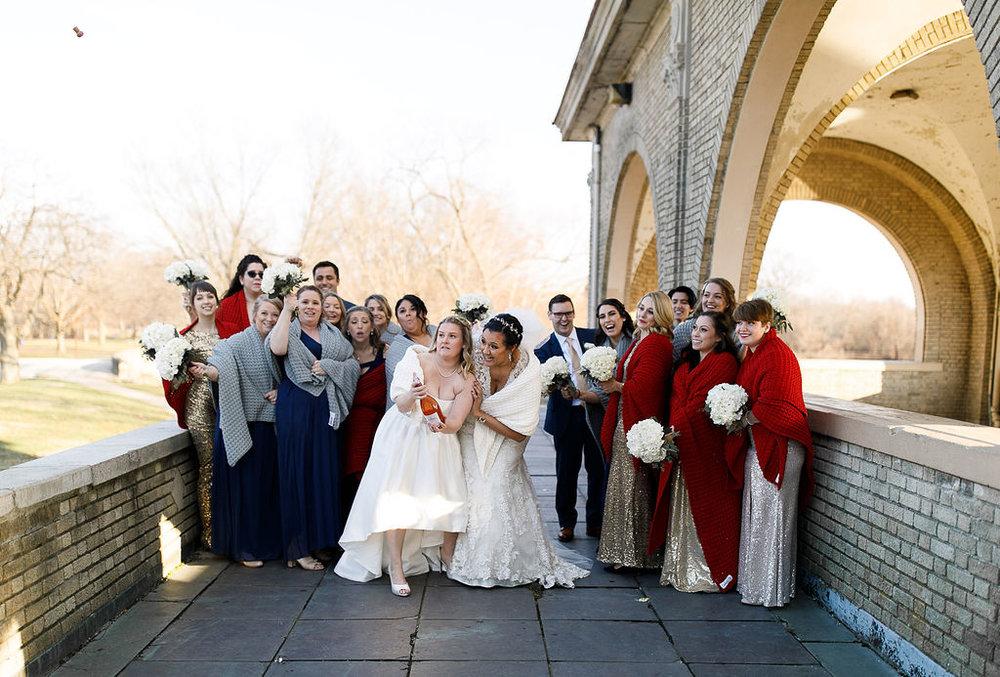 Old City Philly Renaissance Hotel Lesbian Winter Wedding59.jpg