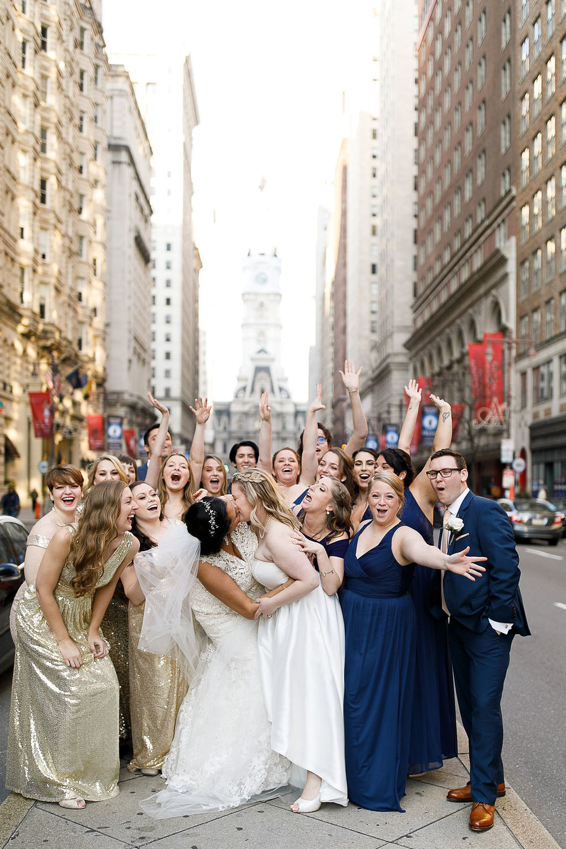Old City Philly Renaissance Hotel Lesbian Winter Wedding63.jpg