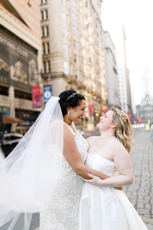 Old City Philly Renaissance Hotel Lesbian Winter Wedding68.jpg