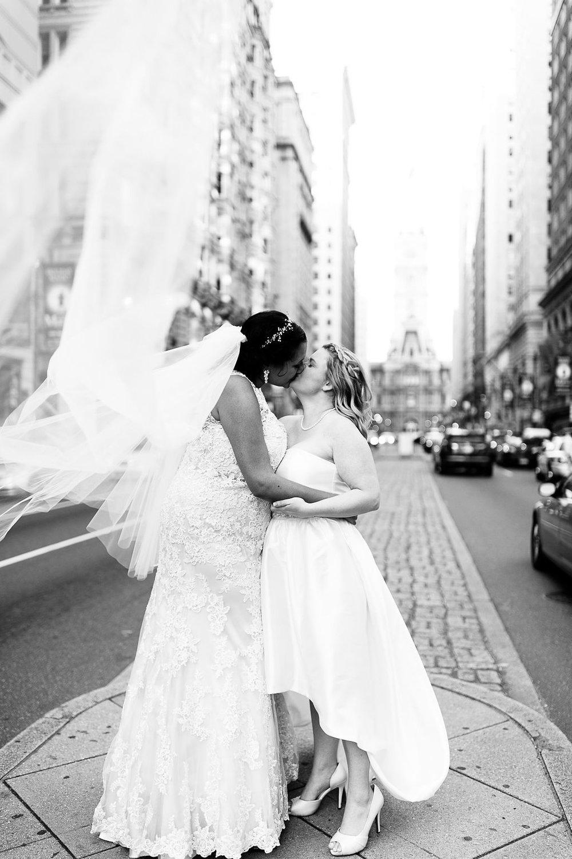Old City Philly Renaissance Hotel Lesbian Winter Wedding69.jpg