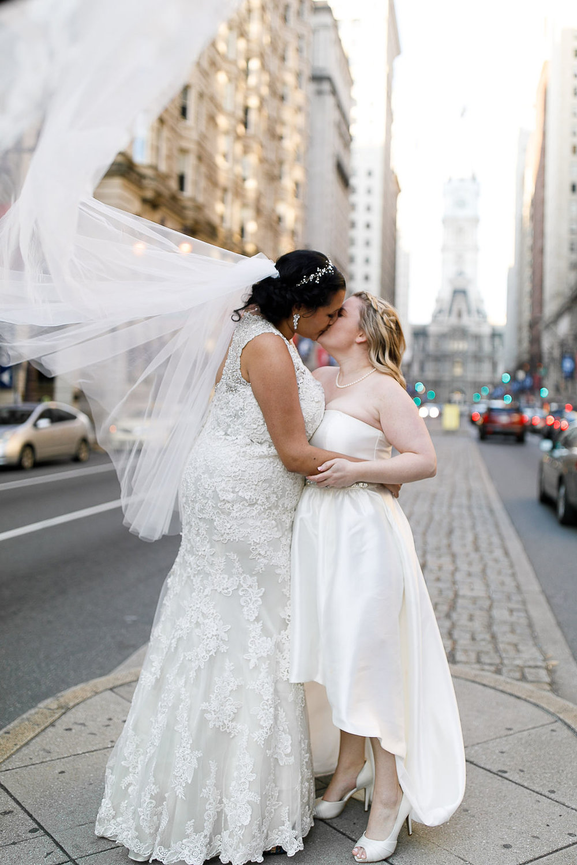 Old City Philly Renaissance Hotel Lesbian Winter Wedding70.jpg