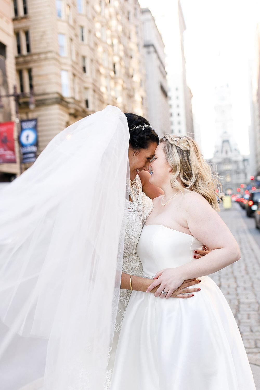 Old City Philly Renaissance Hotel Lesbian Winter Wedding71.jpg