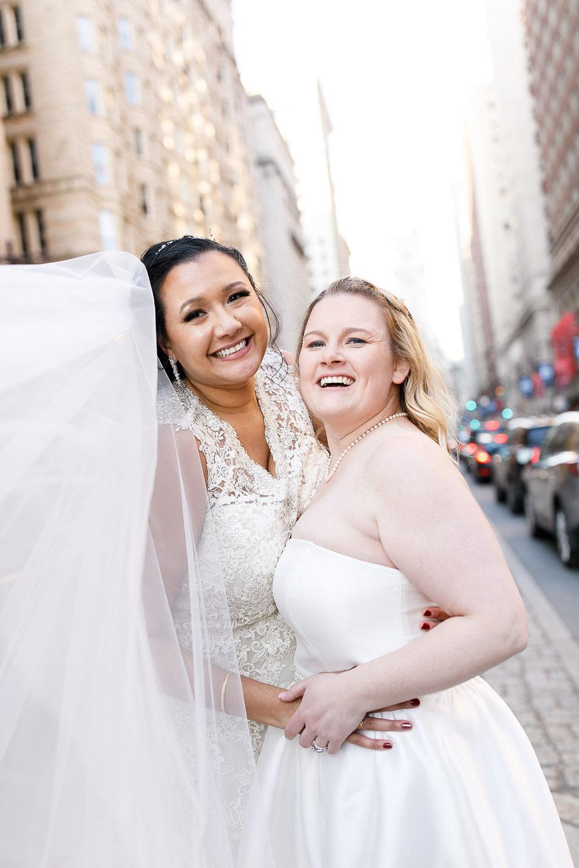 Old City Philly Renaissance Hotel Lesbian Winter Wedding72.jpg