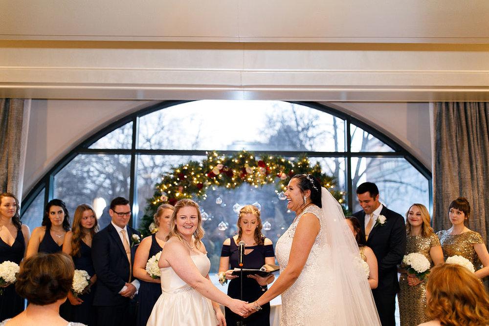 Old City Philly Renaissance Hotel Lesbian Winter Wedding81.jpg