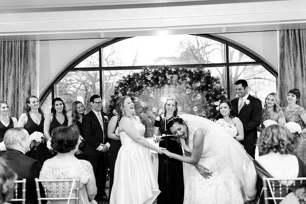 Old City Philly Renaissance Hotel Lesbian Winter Wedding82.jpg