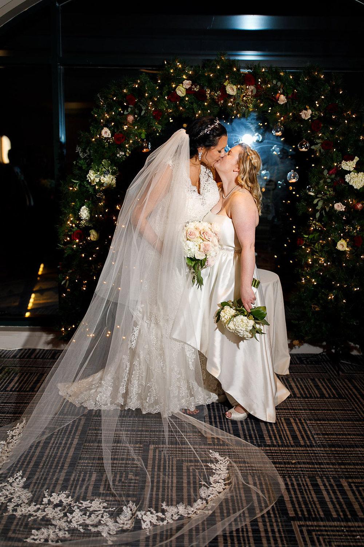 Old City Philly Renaissance Hotel Lesbian Winter Wedding94.jpg