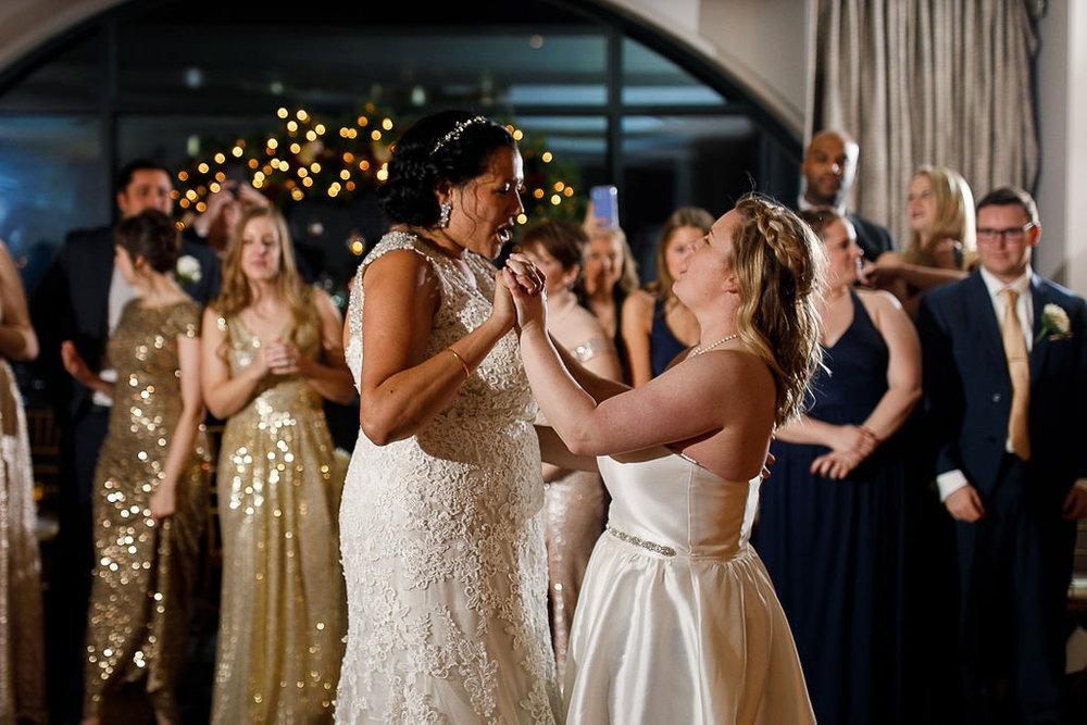 Old City Philly Renaissance Hotel Lesbian Winter Wedding106.jpg