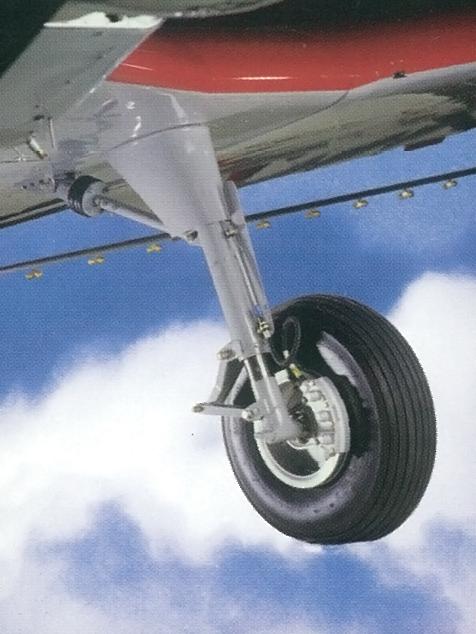 Oleo strut type landing gear