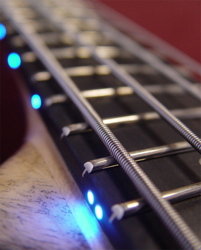 LED Detail 12th Fret Detail
