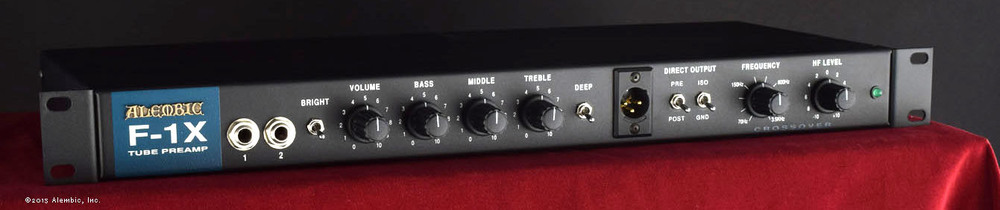 Alembic Preamps Will Gunn Guitars