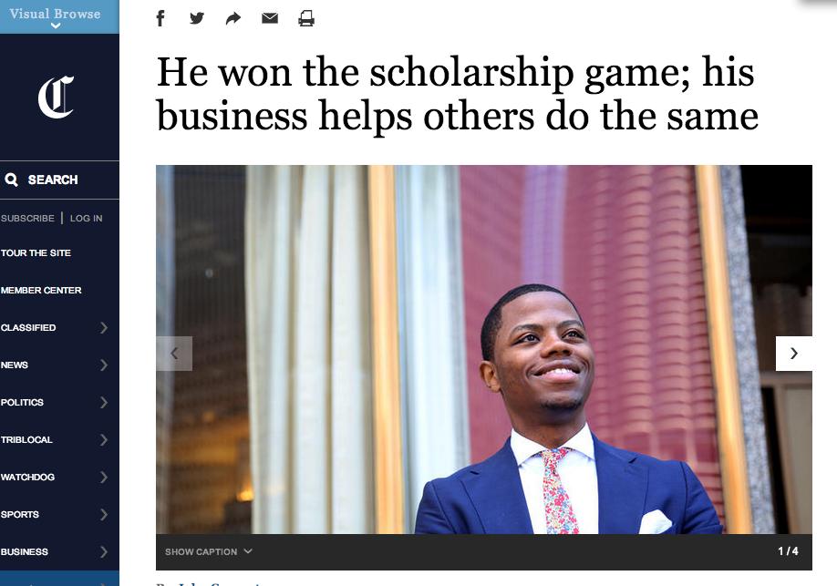 Derrius Quarles Chicago Tribune Scholarships