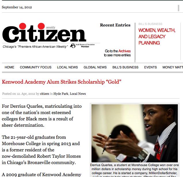 Michigan Avenue Magazine – April 2012