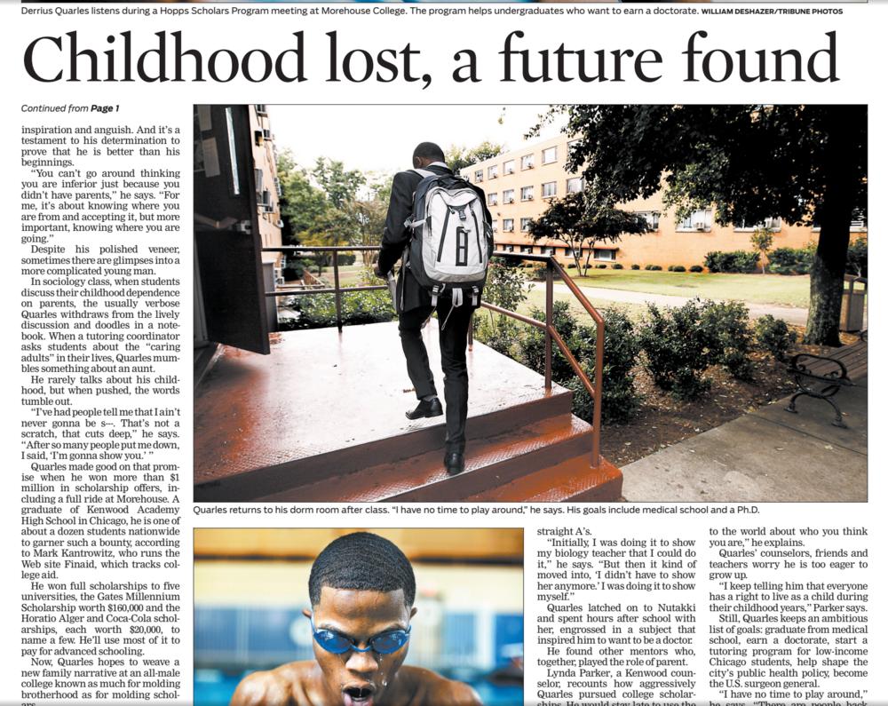 Chicago Tribune – Sept. 2009