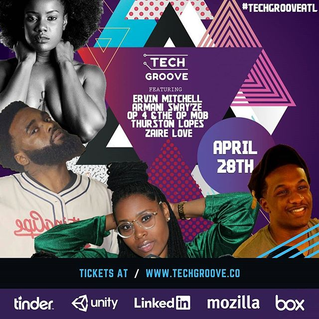 Amazing to see the lightbulb I had alongside @thegodbreaux a little over a year ago become real on a major level. TechGroove is the first technology career and culture festival. Going down tomorrow in the epicenter of the culture. Much love to @tinder and @LinkedIn for sponsoring. VIP tickets still available. #techmeetsturnup #hbcu #spelman #clarkatlanta #morehouse #startuplife #BREAUXcapital #tech #pocintech #blackcreatives #blackculture #music #groovy