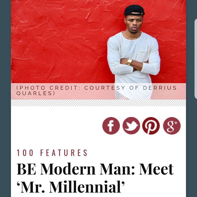 Much love to @blackenterprise for being named one of the 100 BE Modern Men for 2017. They didnt disappoint with the title either. Peep the article link In bio.  #MrMillennial #FinancialFreedom #DiddyBop #BREAUXCapital #Chicago #Entrepreneurship #Innovation #ForTheCulture #BEModernMan #BlackExcellence #StayWoke