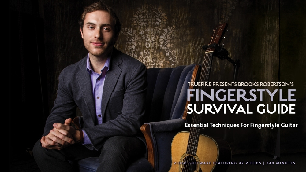 Brooks' Comprehensive Fingerstyle  Instructional Course