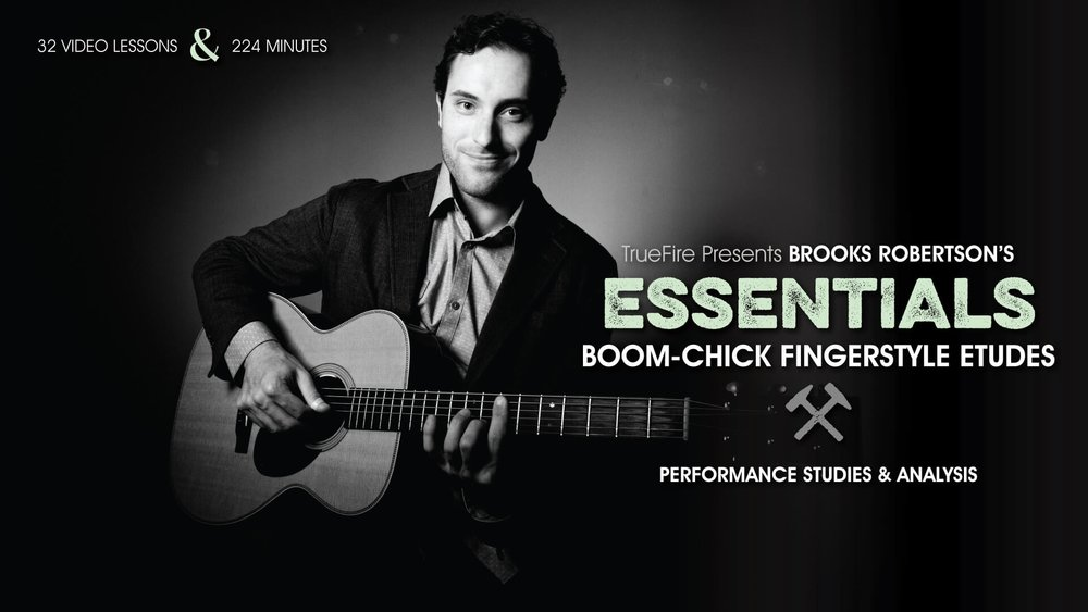 Brooks' Essential Fingerstyle Boom-Chick Etudes