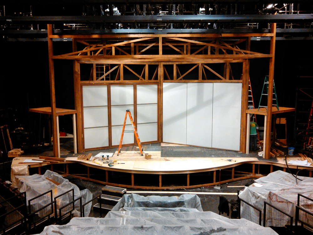 Cinderella  set in progress