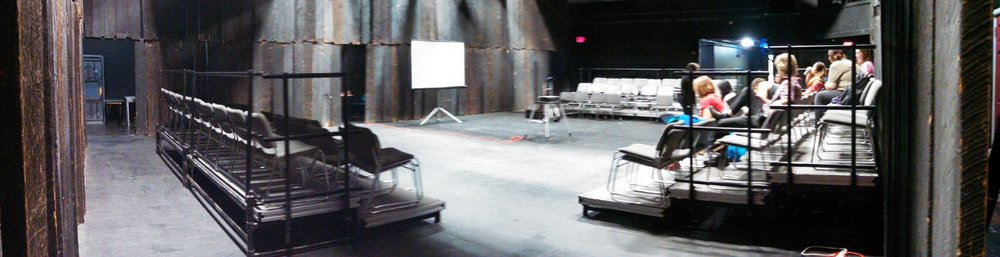 Studio Theatre before renovations.