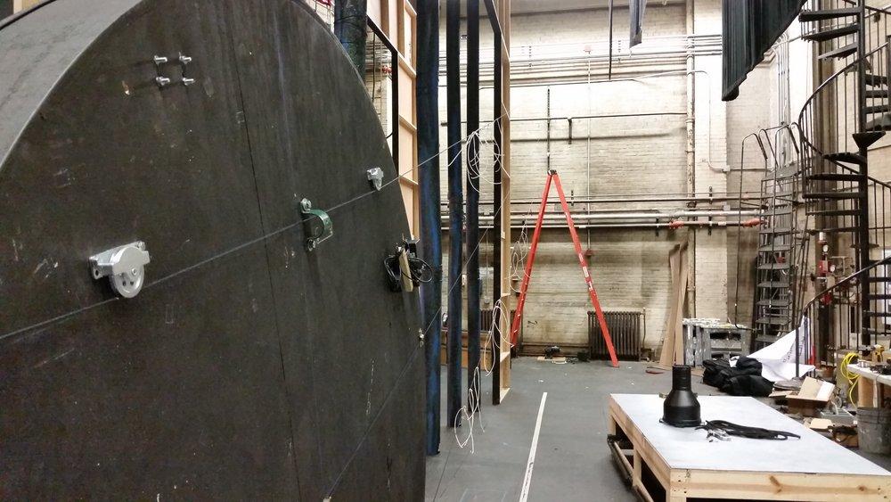 Moon rig setup.