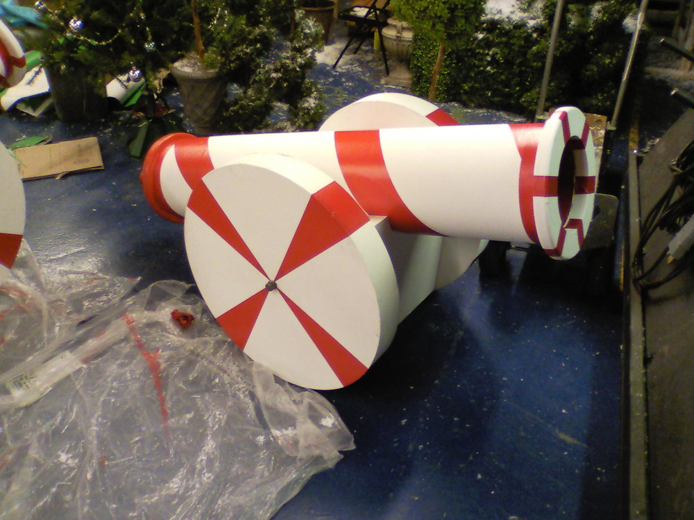 Candy Land cannon.