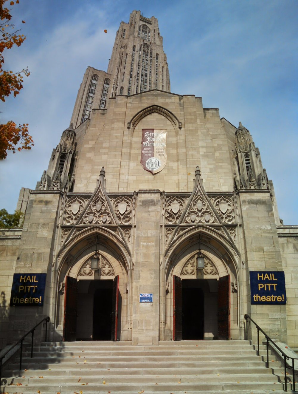 Pitt's Cathedral of Learning.