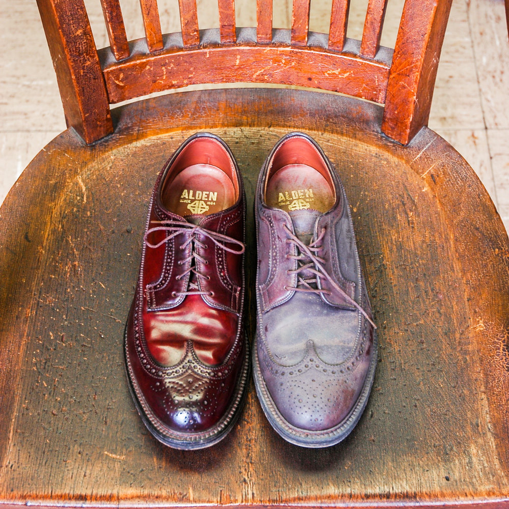 low priced a85ba 181b8 Shell Cordovan Care — Horween Leather Co.