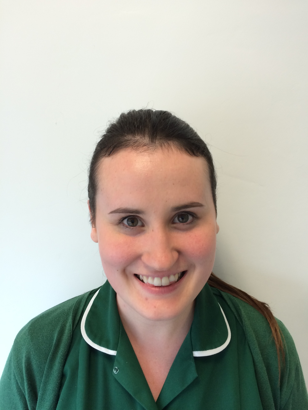 EMMA MANNAH  Veterinary Nurse RVN  Emma has worked in small animal practice since 2009 and qualified in 2012. She has a particular interest in animal behaviour. She has 2 cats and a baby daughter, Lillie.