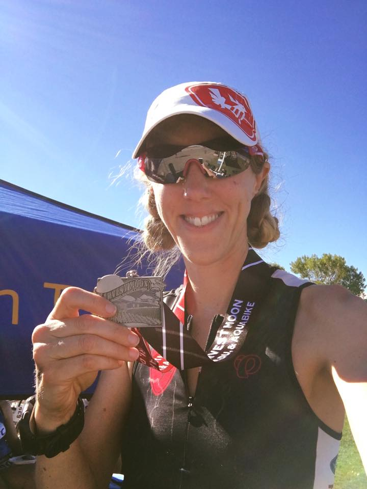Harvest Moon Triathlon 2016 Finish