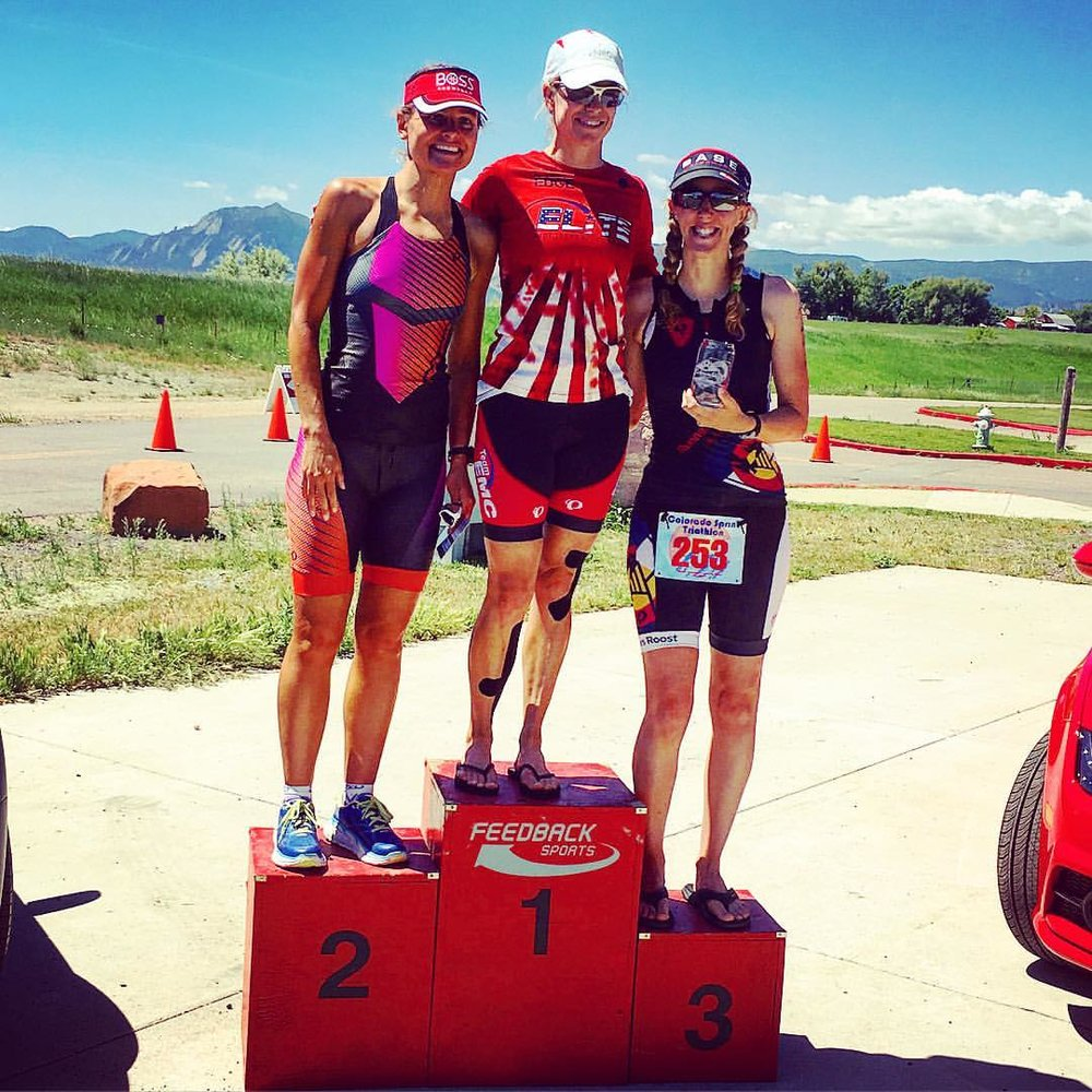 Third Place at 2016 Colorado Triathlon