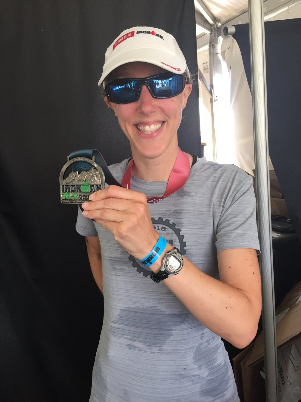 Boulder 70.3 Triathlon Finished!