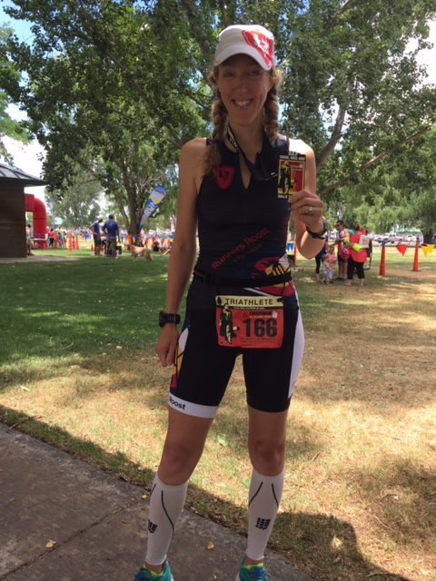 Utah Toughman 70.3 finish