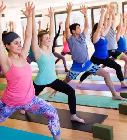 HEALTH YOGA LIFE FREE CLASS AT NOON!