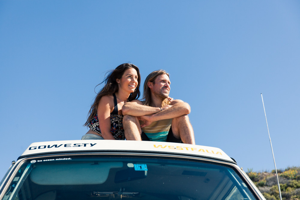 Emily and Corey and their beloved Van Borscha | Photo by WMON