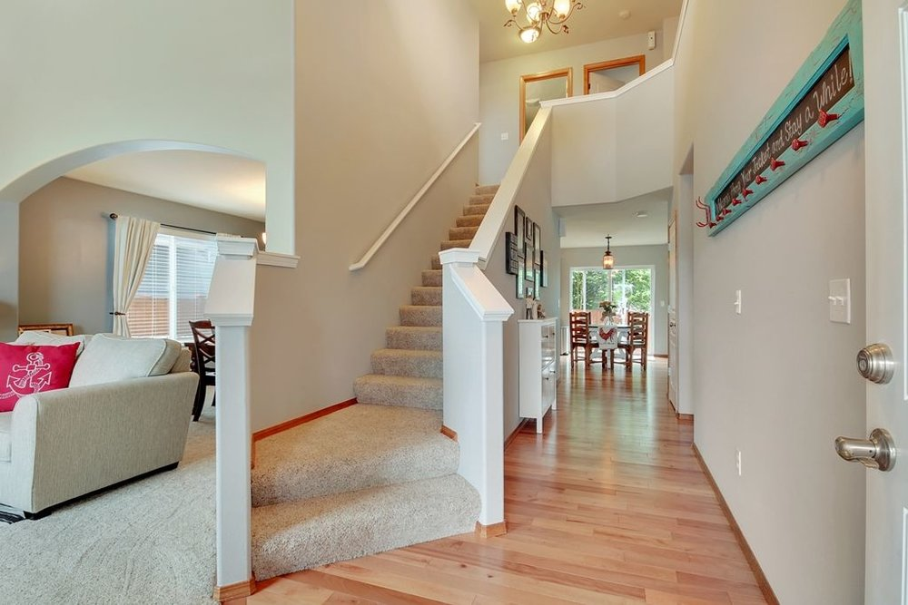 Entryway - Partial Home Staging
