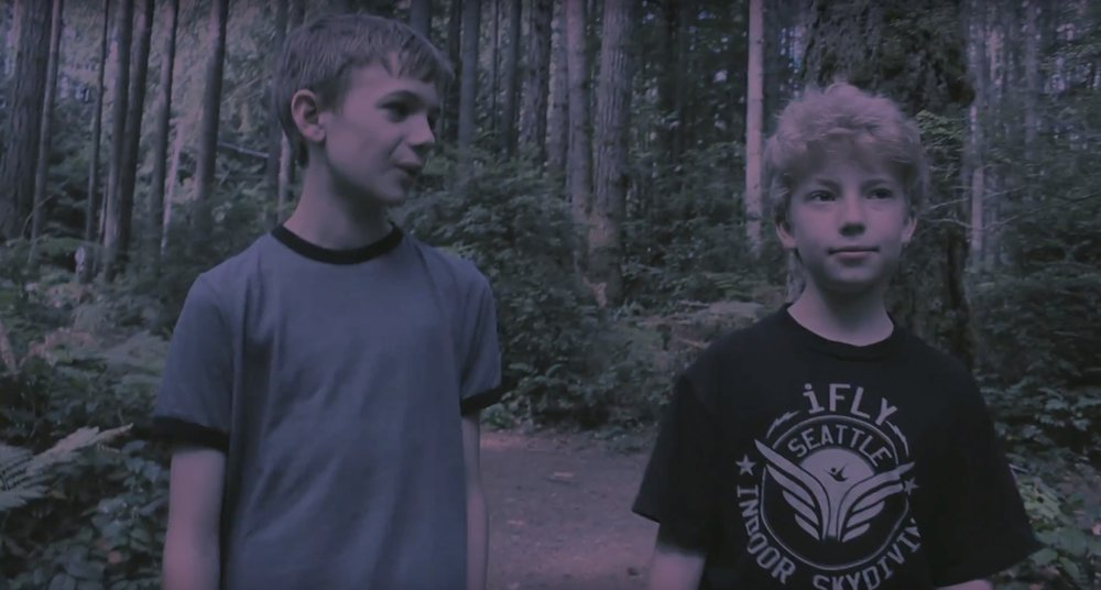 Friends Blake and Jeffery love playing Halo together. But when the neighbor kid Theora stops by, they attempt to ditch her by escaping into the nearby forest. Unfortunately, they soon lose their way and darkness begins to fall. The choices they make and situations they encounter could leave them forever changed.