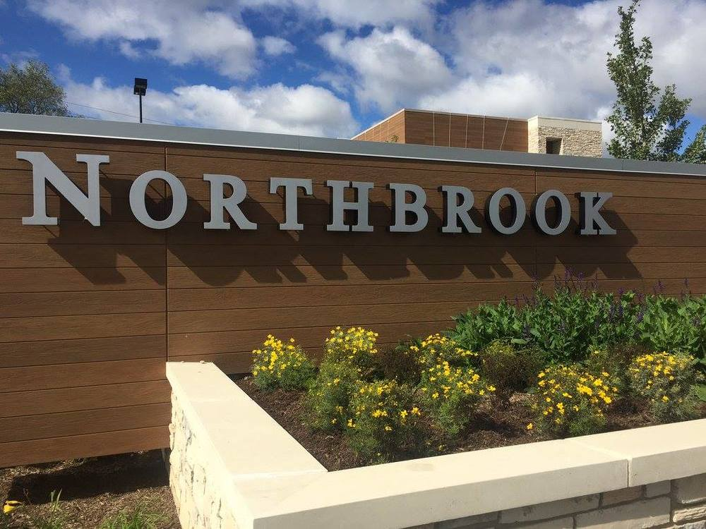 "We helped developed this ""Gateway to Northbrook."" As you enter the NorthShore770 shops at the intersection of Skokie Boulevard and Dundee Road."