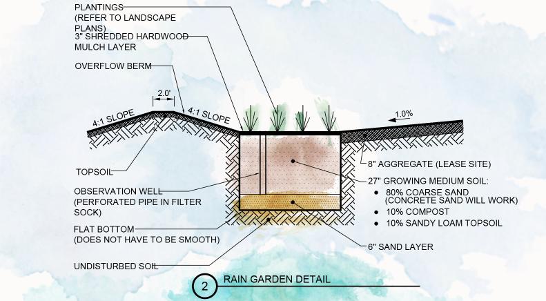 Terra Rain Garden Plan