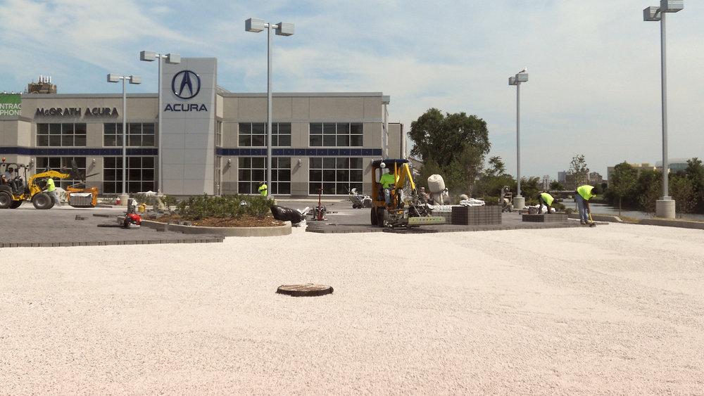 Construction at McGrath Acura