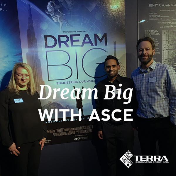 Inga Cebelis, Joel Mathai and Mike Elliott attended the event on behalf of Terra.